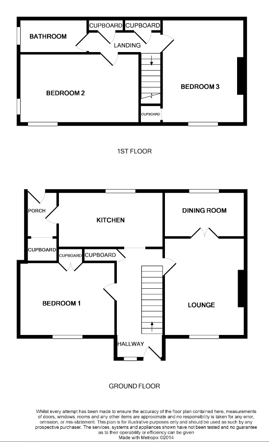 Floor Plan for 10 Fairhurst Road