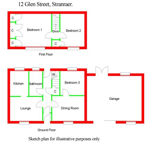 Floor Plan for 12 Glen Street