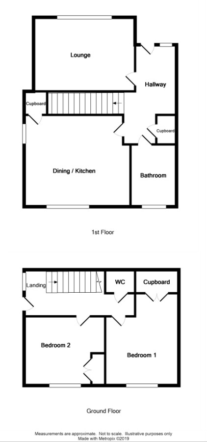 Floor Plan for 12 Hillside Way