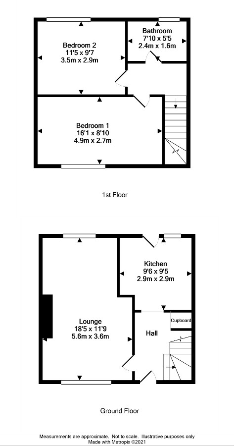 Floor Plan for 13 Orchard Road
