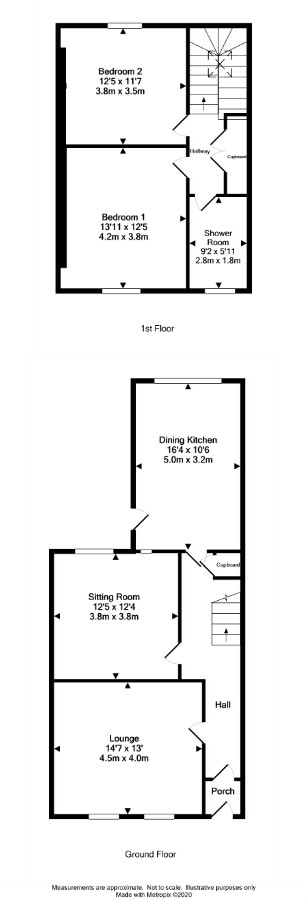 Floor Plan for 13 Victoria Place