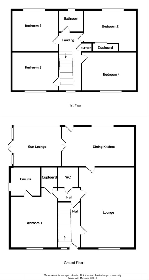 Floor Plan for 1 Thorney Way