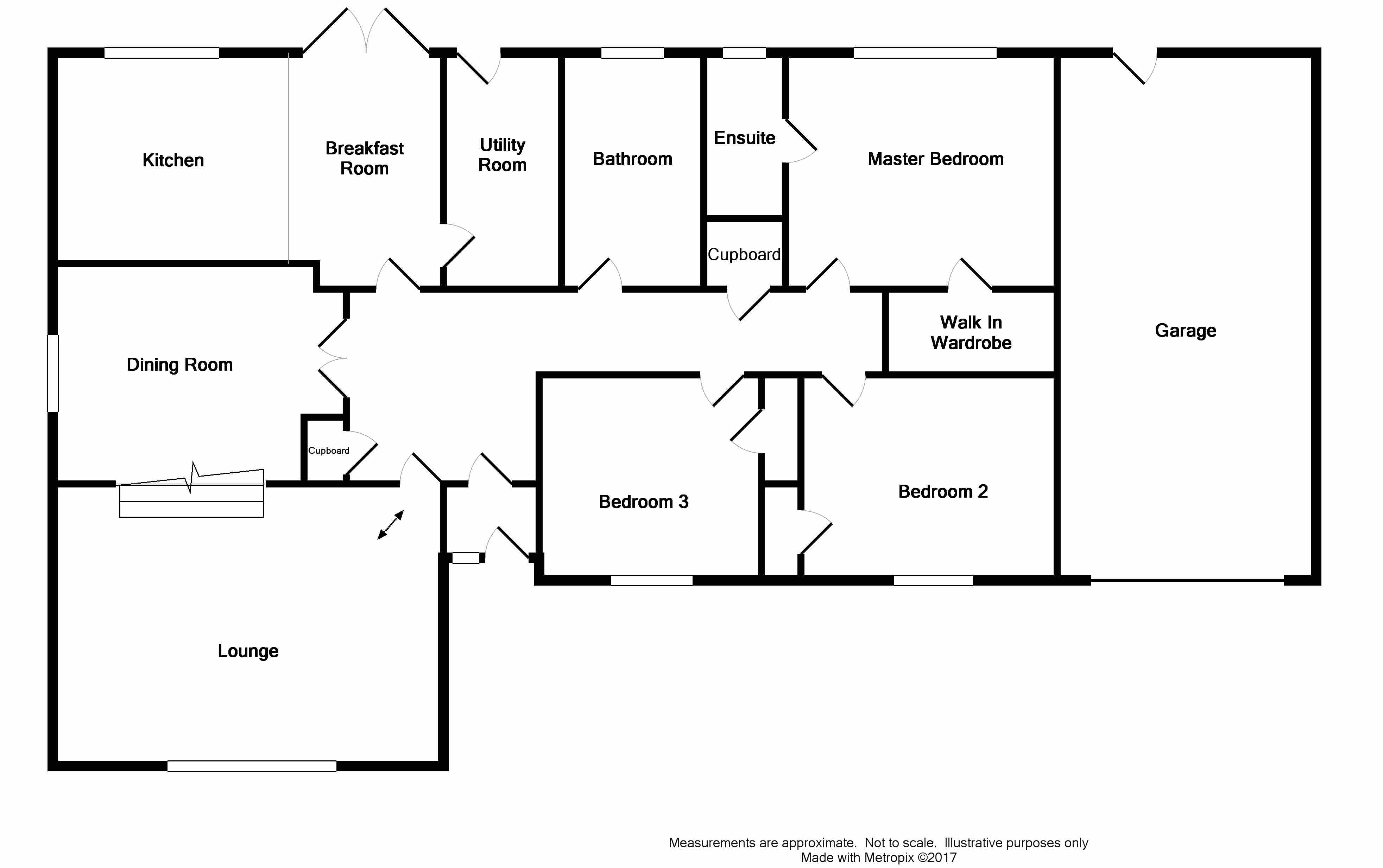 Floor Plan for 1 Willowbank