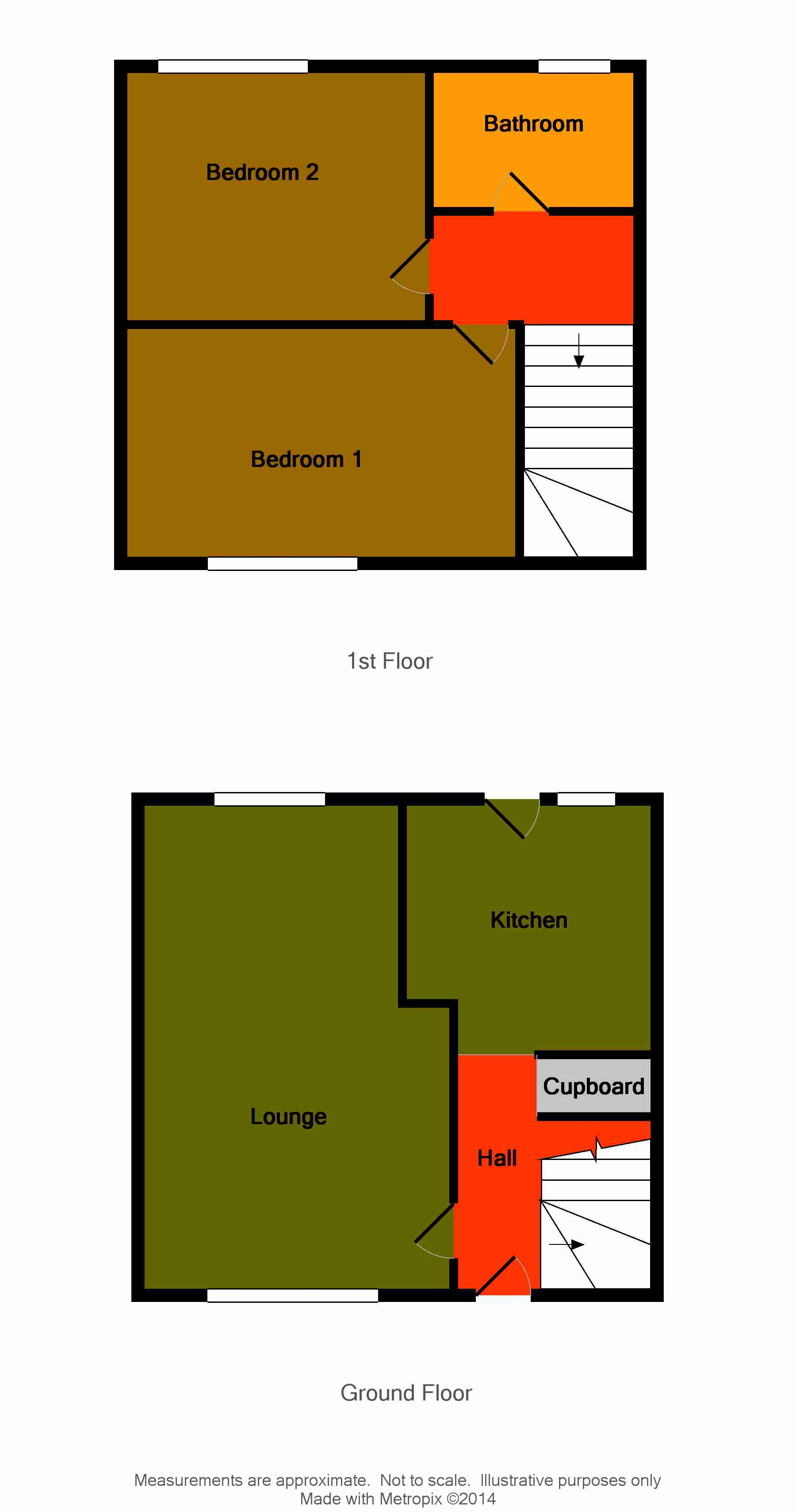 Floor Plan for 2 Southgate Road