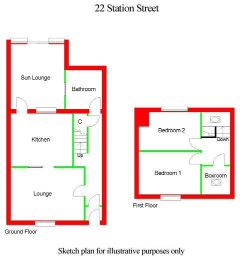 Floor Plan for 22 Station Street