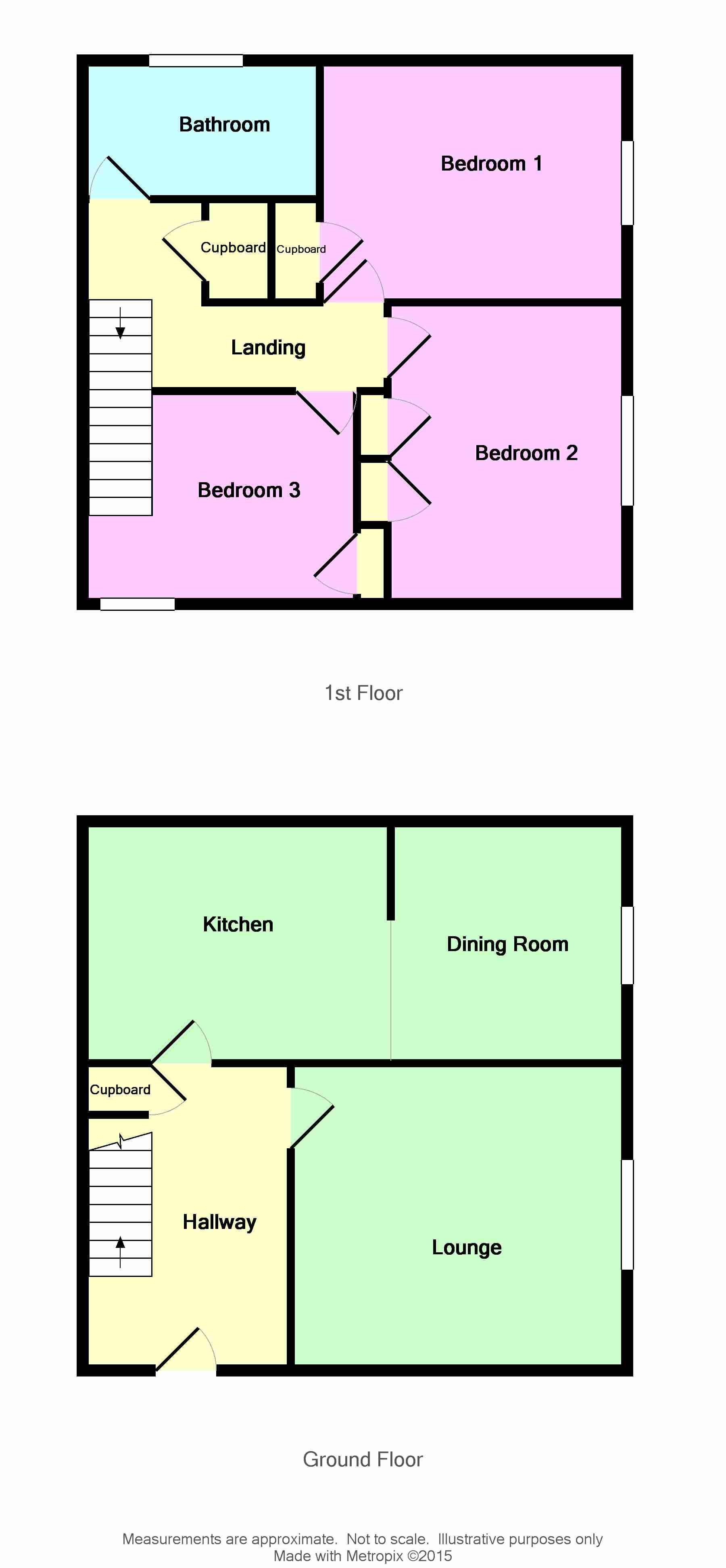 Floor Plan for 23 Arran Court