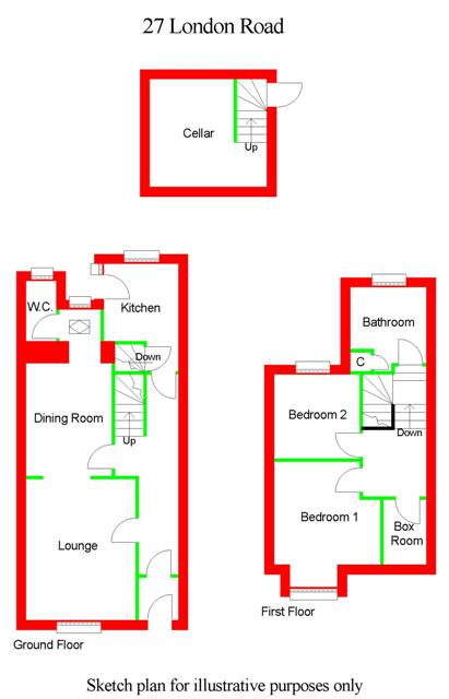 Floor Plan for 27 London Road