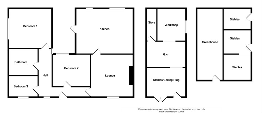 Floor Plan for 2 South Cairn Cottage