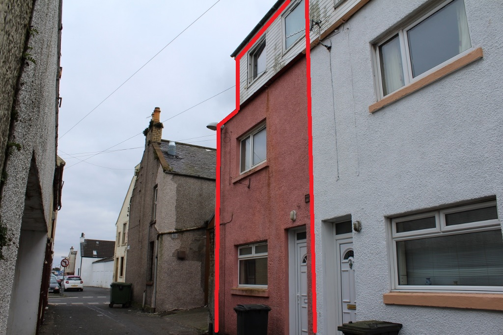 Photograph of 33 Fisher Street, Stranraer