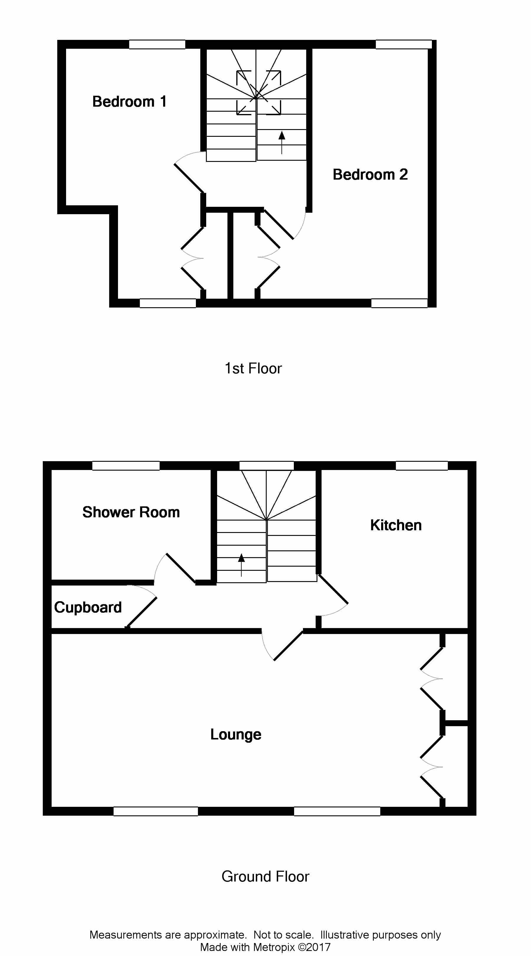 Floor Plan for 43 St John Street