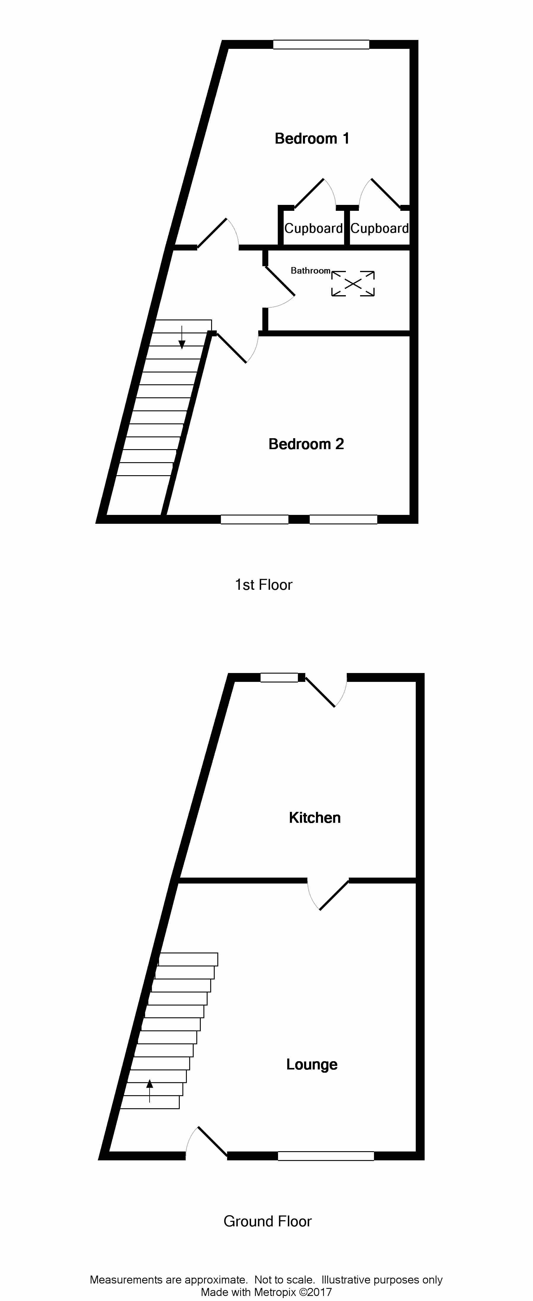 Floor Plan for 45 High Street