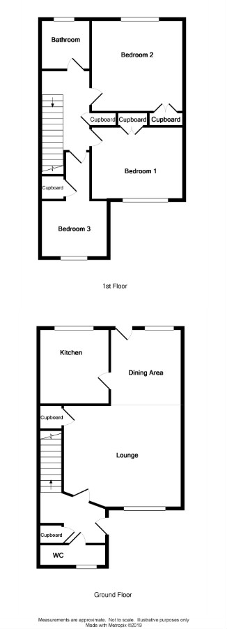 Floor Plan for 5 Birch Close