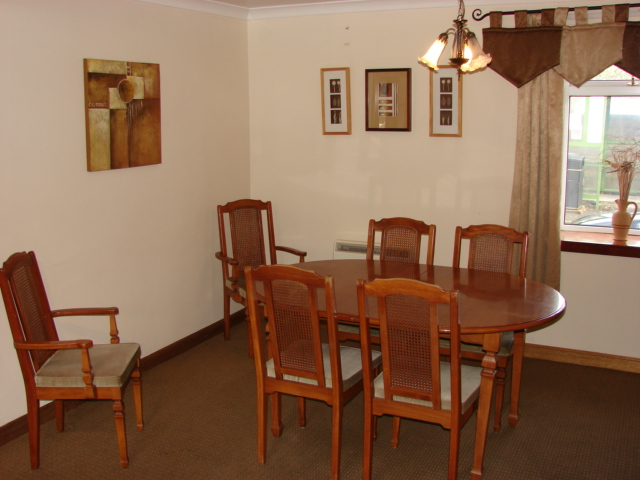 Photograph of Dining area