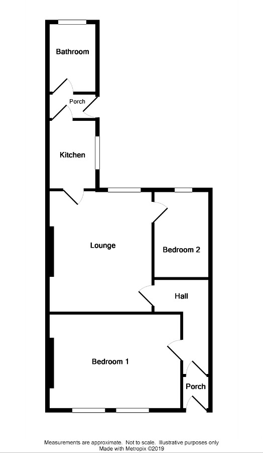 Floor Plan for 6 Clenoch Street