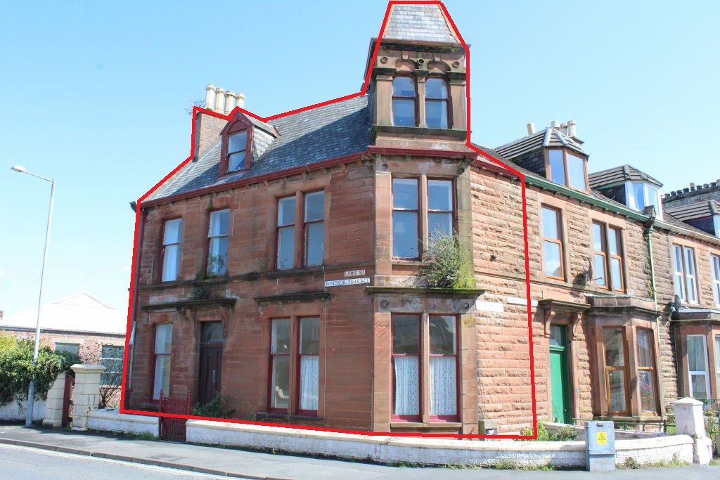 Photograph of 8 Windsor Terrace, Academy Street, Stranraer