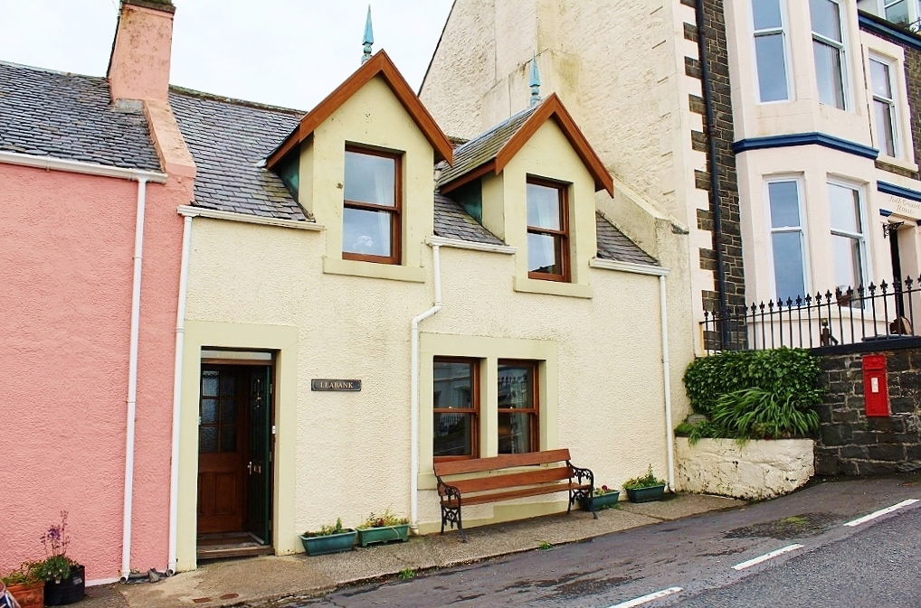 Photograph of 'Leabank', 9 South Crescent, Portpatrick