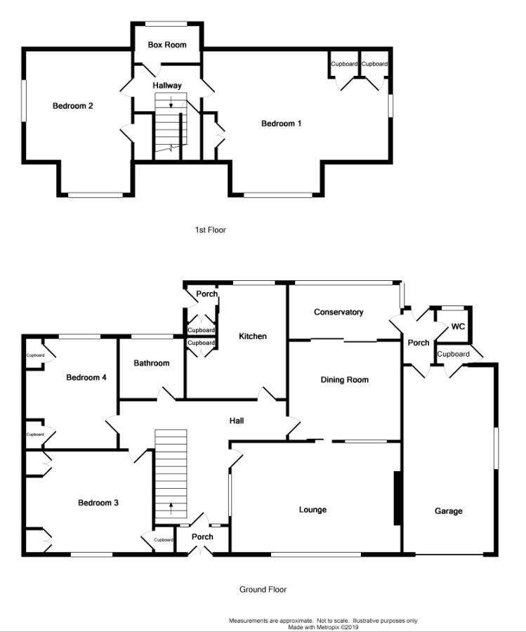 Floor Plan for 'Auchengith' Springbank Road