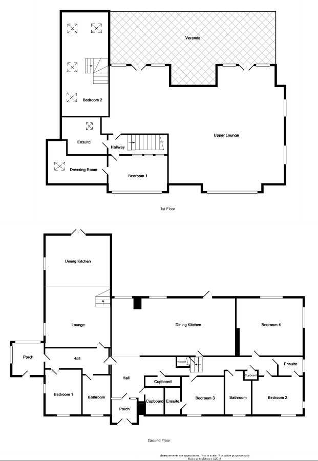 Floor Plan for 'Chestnut Lodge'