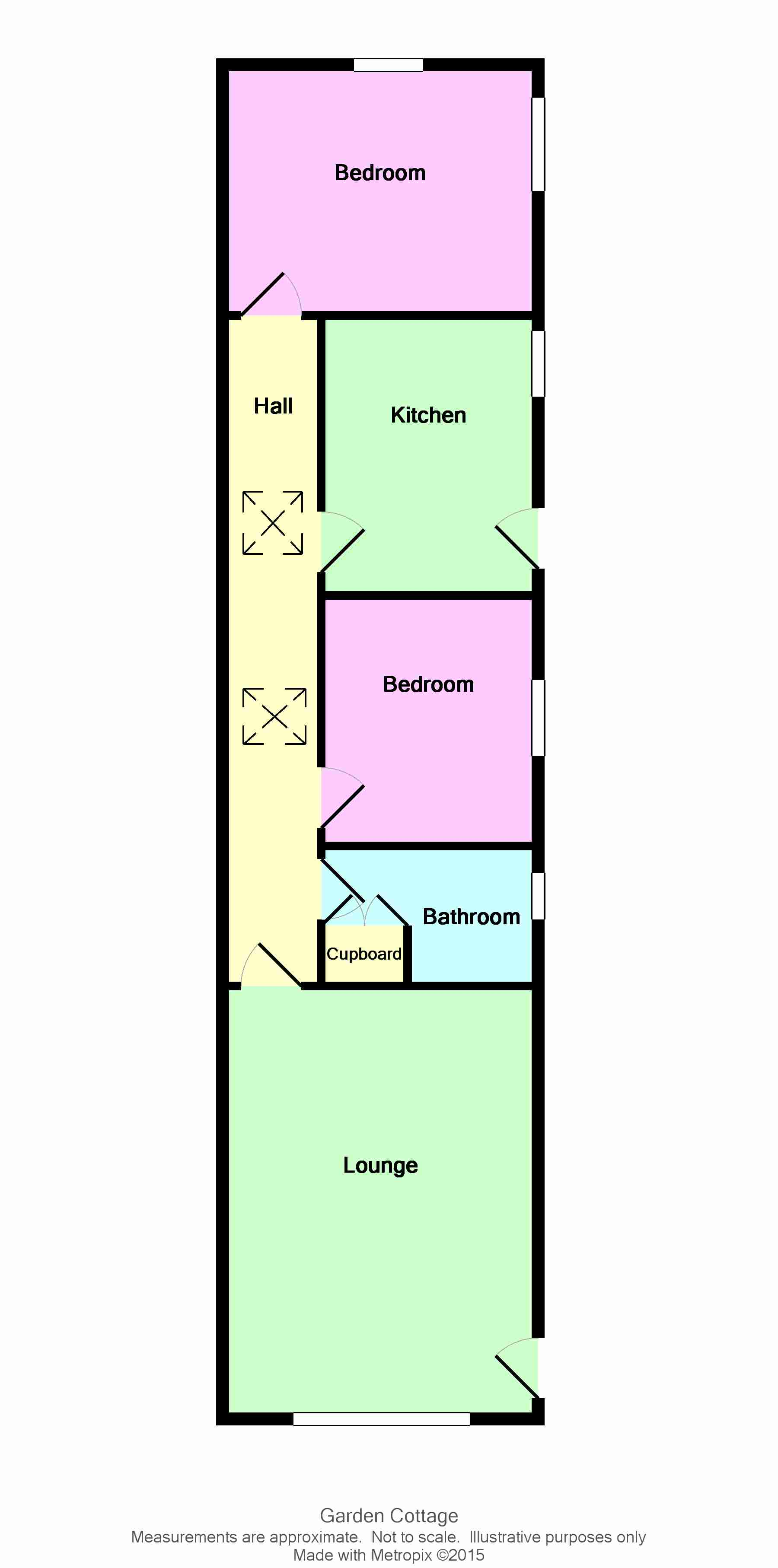 Photograph of Garden Cottage floorplan
