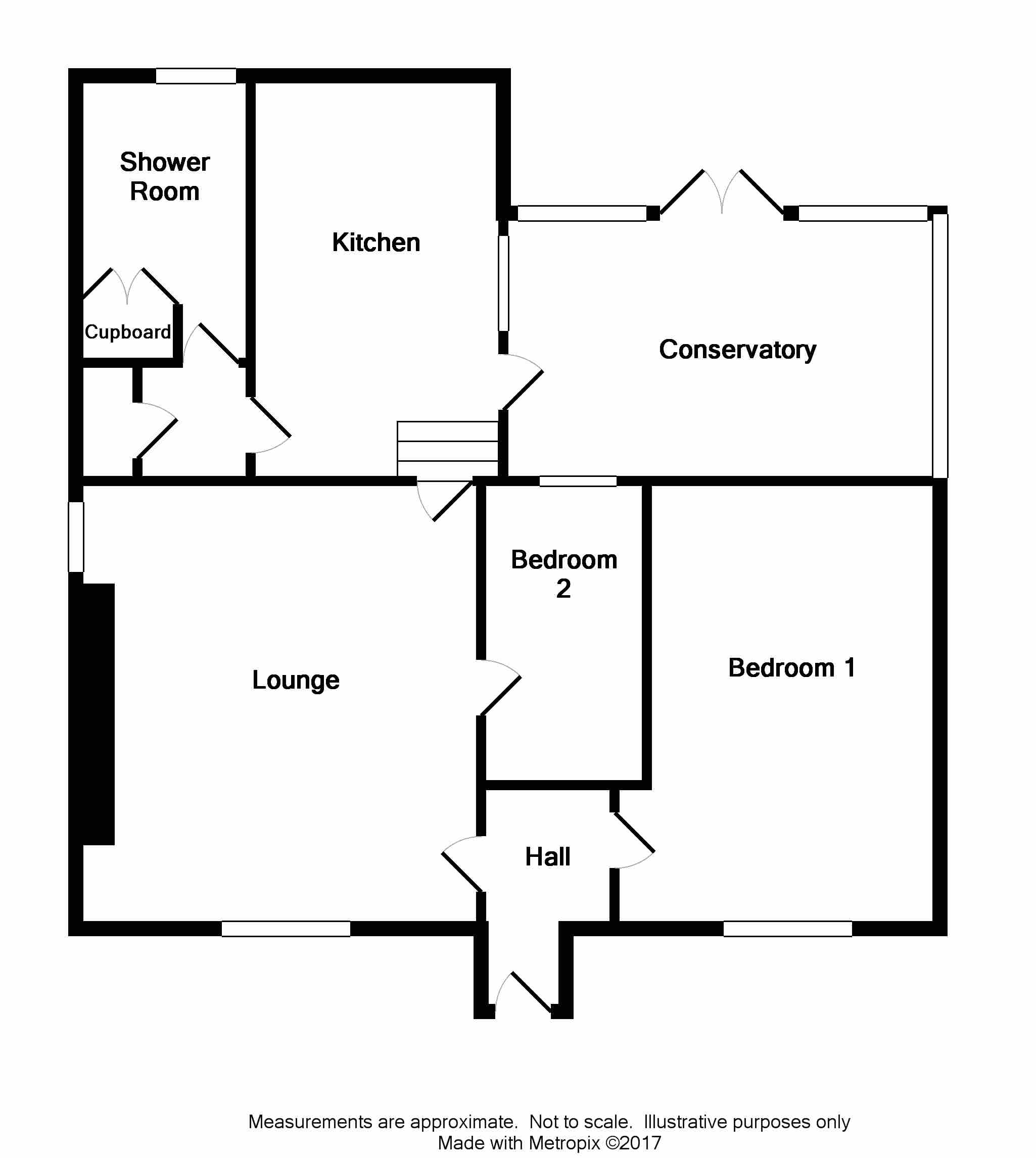 Floor Plan for 'Hillhead of Craichmore Cottage'