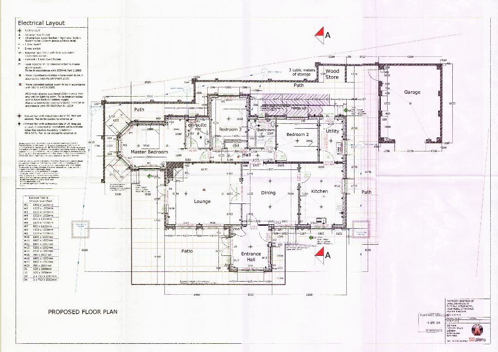 Floor Plan for Building Plot, Kirkmaiden