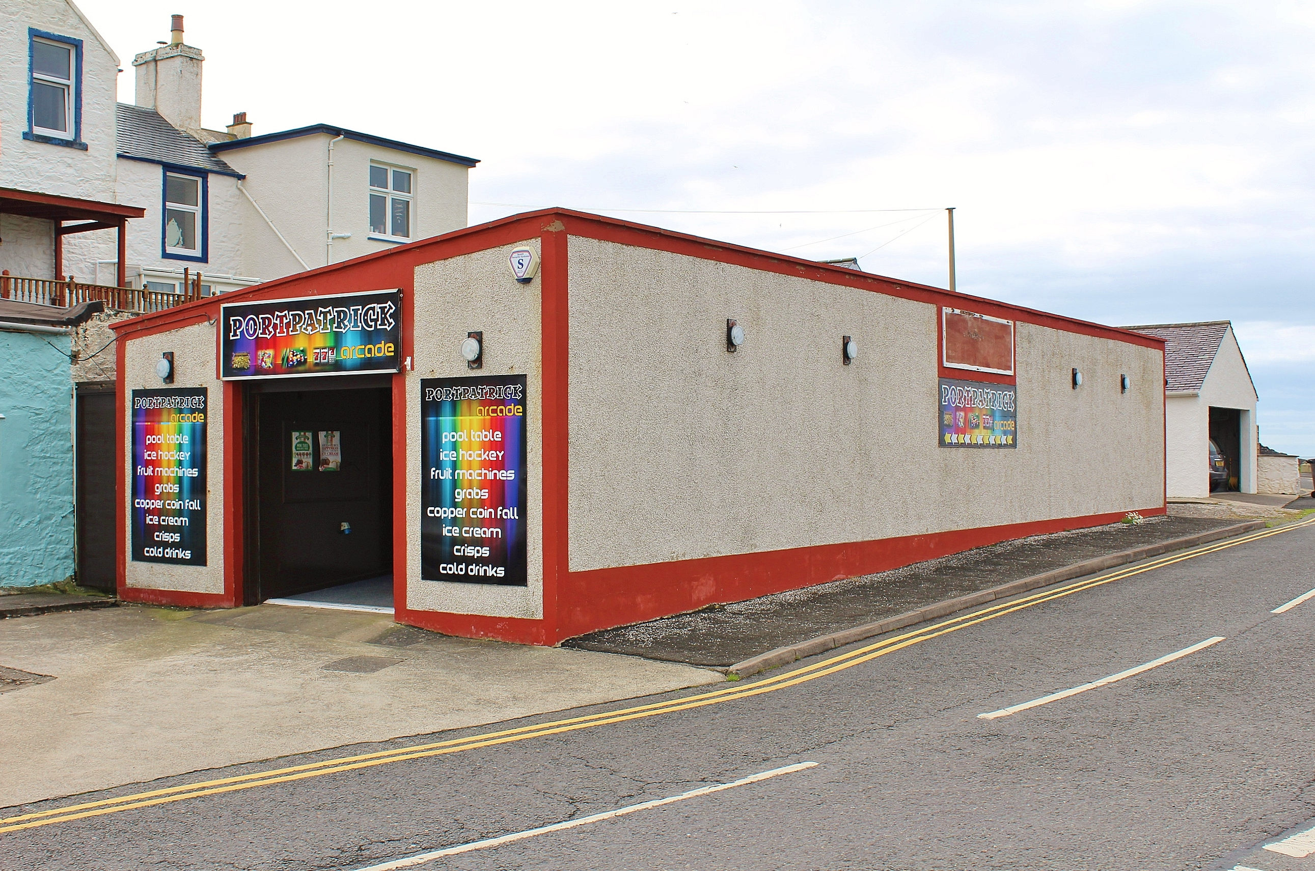 Photograph of Amusement Arcade, South Crescent, Portpatrick