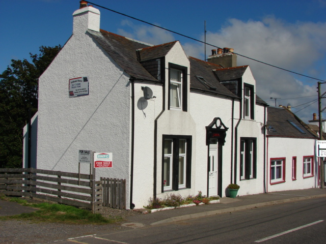 Photograph of 'Ashbank' & 'Ashbank House', Main Street, Lochans
