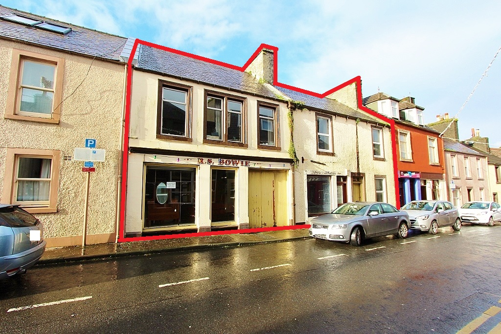 Photograph of 20 - 26 Queen Street, Stranraer