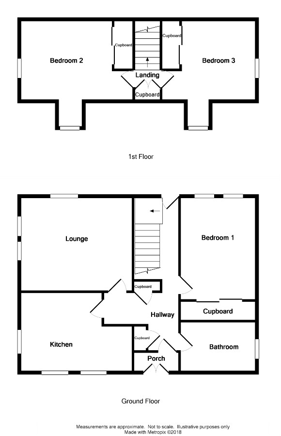 Floor Plan for 'Bridge-End'