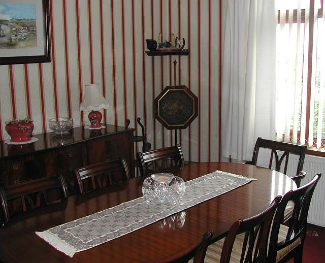 Photograph of Dining room