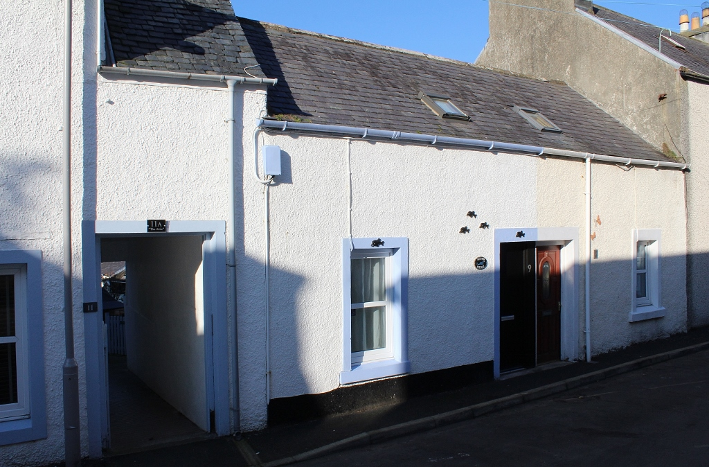Photograph of 'Dolphin Cottage', 9 Colonel Street, Portpatrick