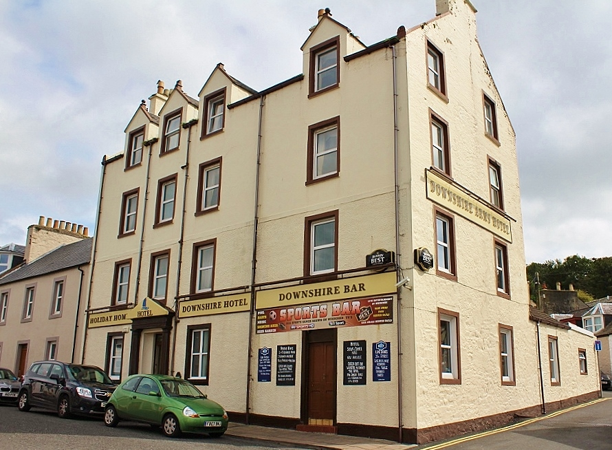 Photograph of The Downshire Hotel, Portpatrick