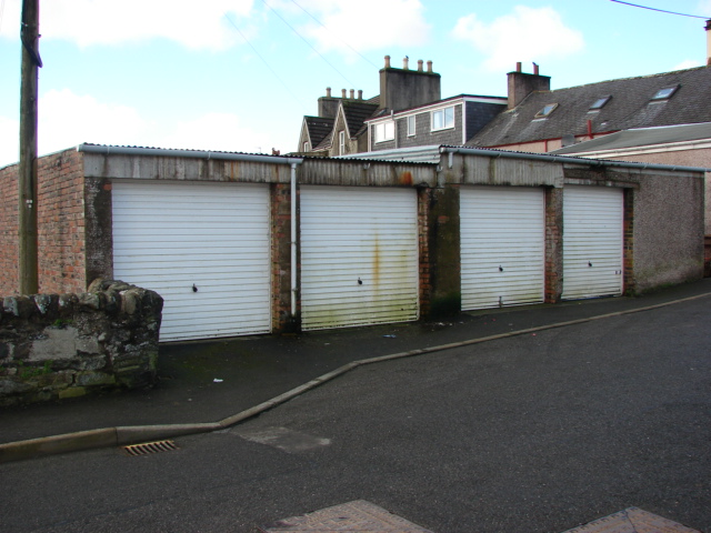 Photograph of Garages, Bankfield Road, Glenluce