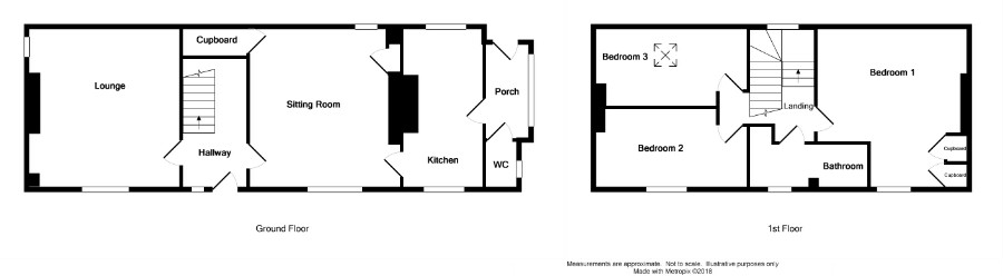 Floor Plan for 'Glenburn', Knockinaam Road