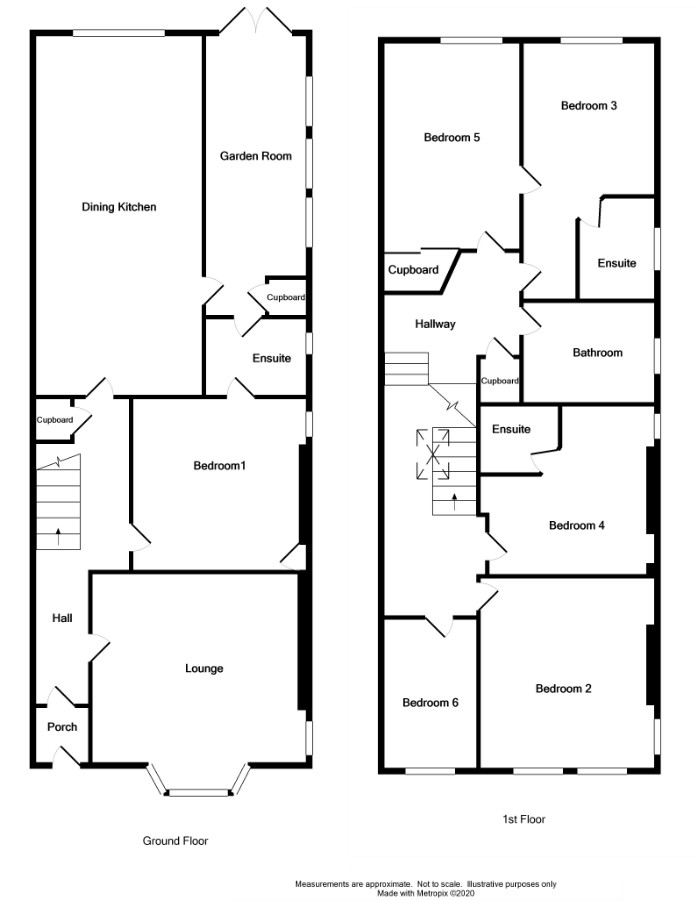 Floor Plan for 'Glencairn' Edinburgh Road