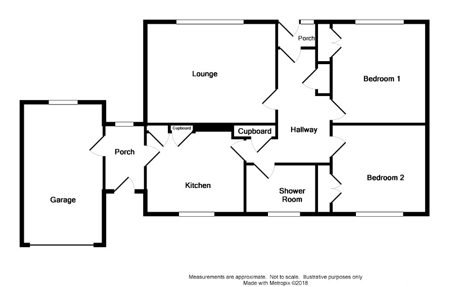 Floor Plan for 'Glenryan', Lochview Road
