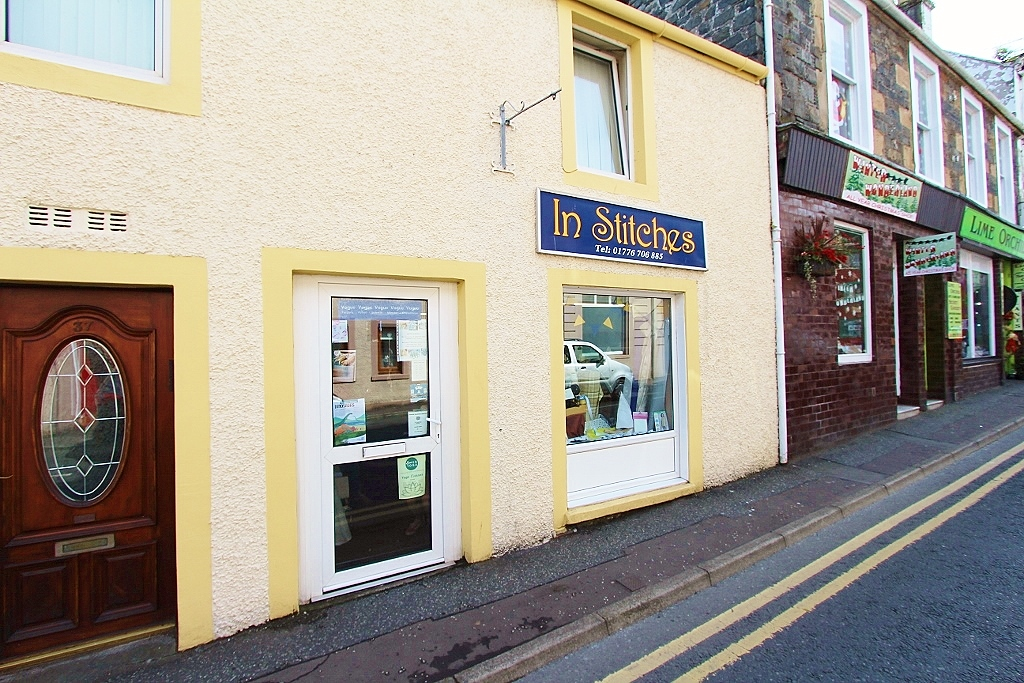 Photograph of 'In Stitches' Queen Street, Stranraer