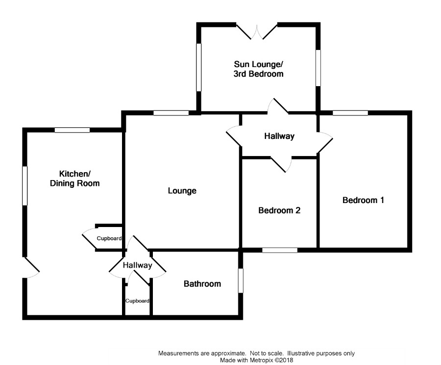 Floor Plan for 'Keeper's Cottage', Craigenholly