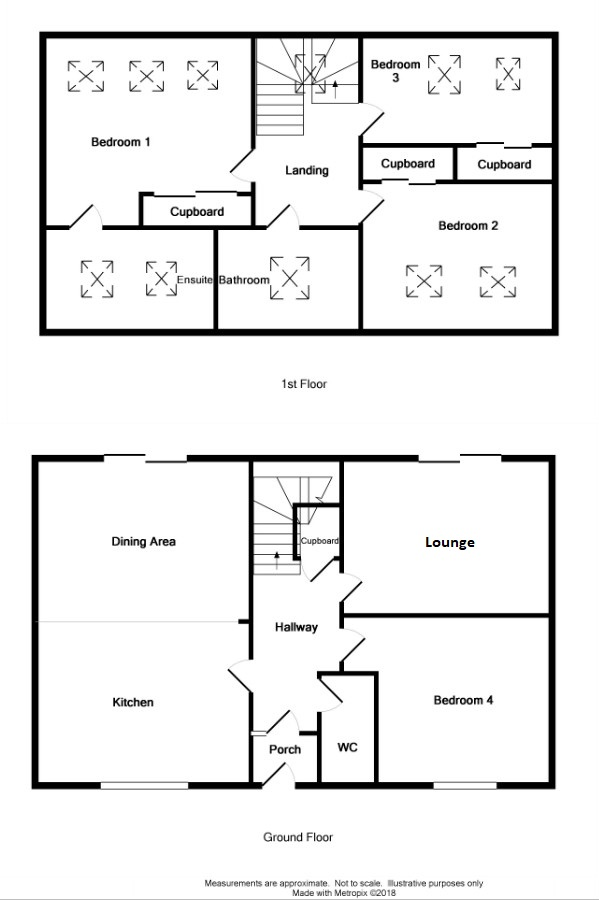 Floor Plan for 'Kinbyre'