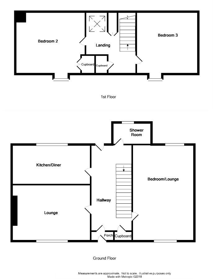 Floor Plan for 'Lilac Cottage'