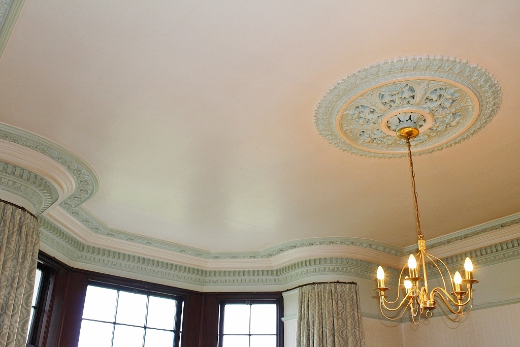 Photograph of Cornice and ceiling rose