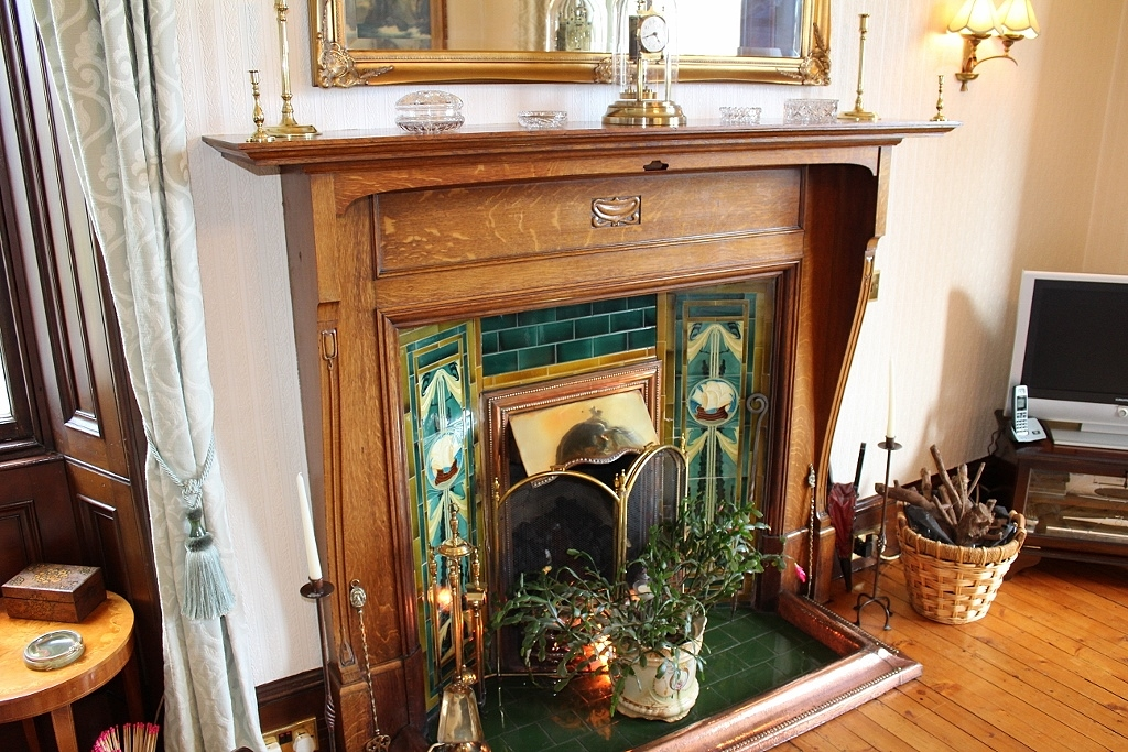 Photograph of Fireplace