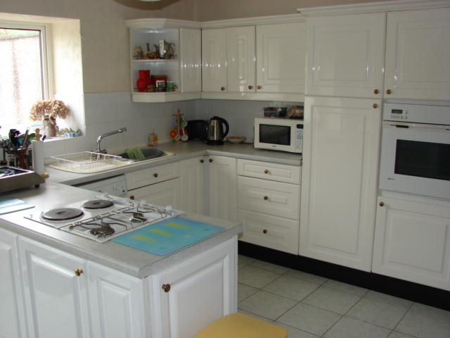 Photograph of Port Logan Lodge Dining kitchen