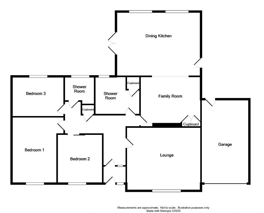 Floor Plan for 'Northbrae' 8 Brookfield Crescent