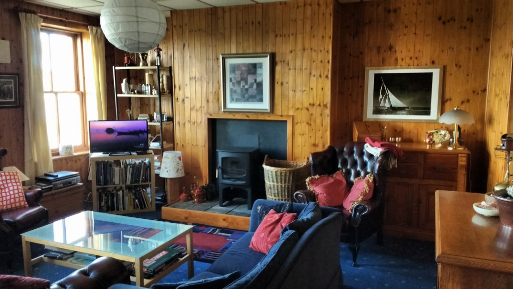 Photograph of Port Logan Lodge lounge