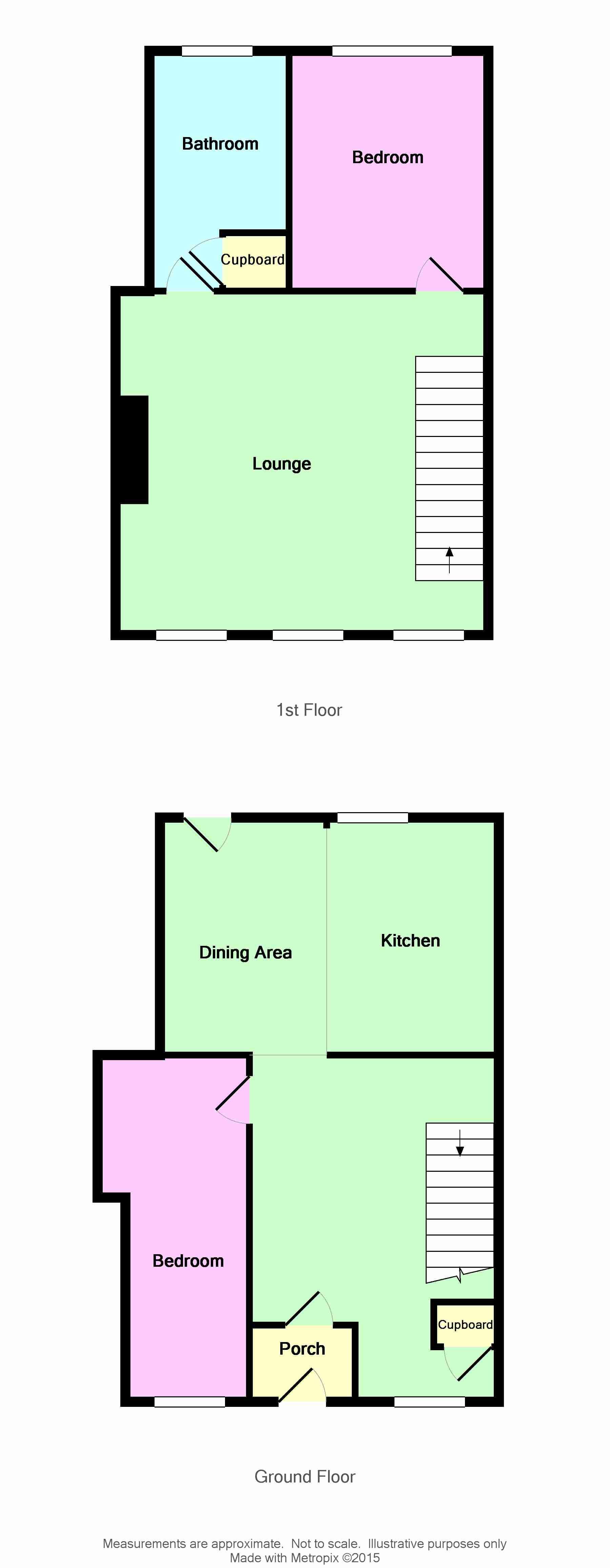 Photograph of Port Logan House floorplan
