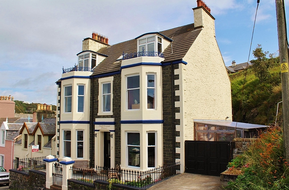 Photograph of 'South Crescent House', South Crescent, Portpatrick