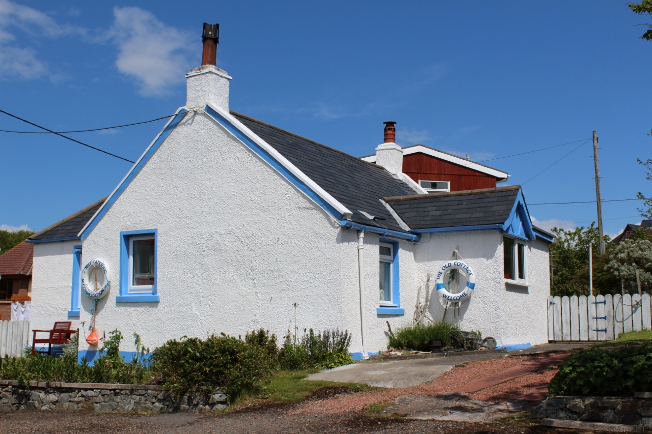 Photograph of 'The Cottage', School Brae, Portpatrick