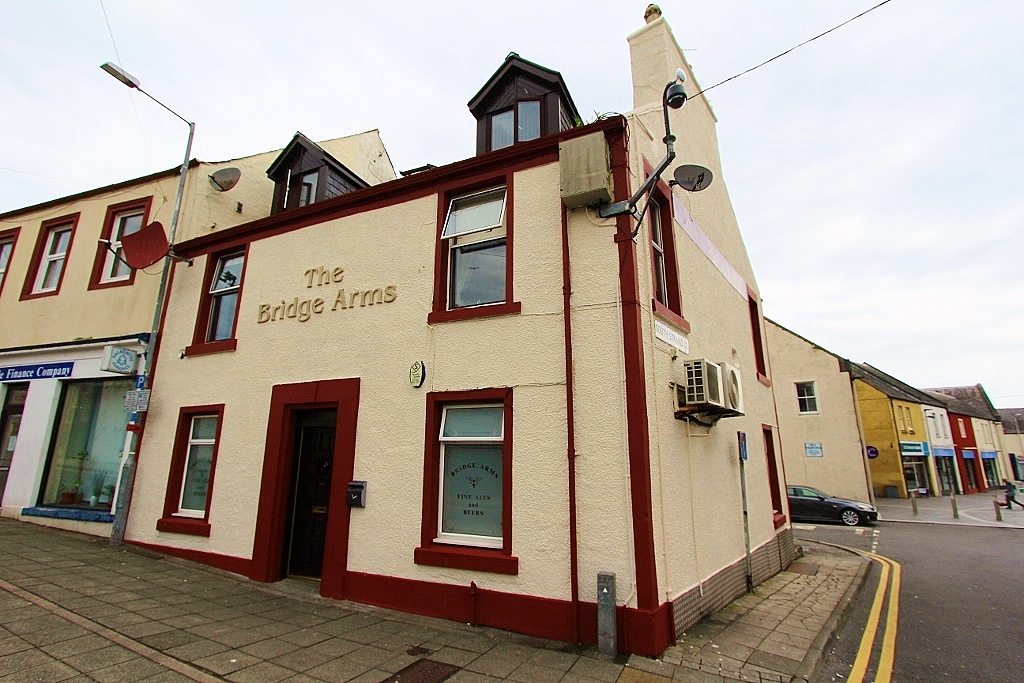 Photograph of 'The Bridge Arms', Stranraer